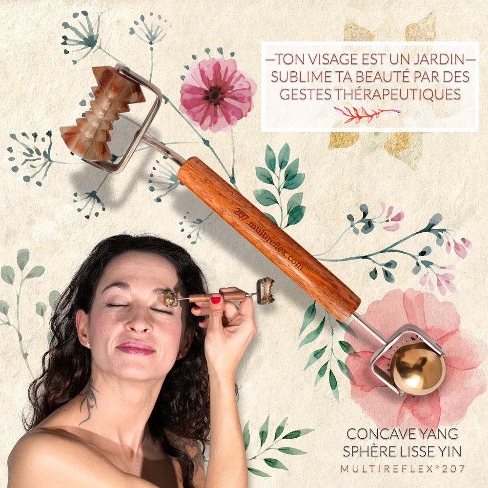 Probleme de peau et solutions naturelles avec les outils du Dien Chan.