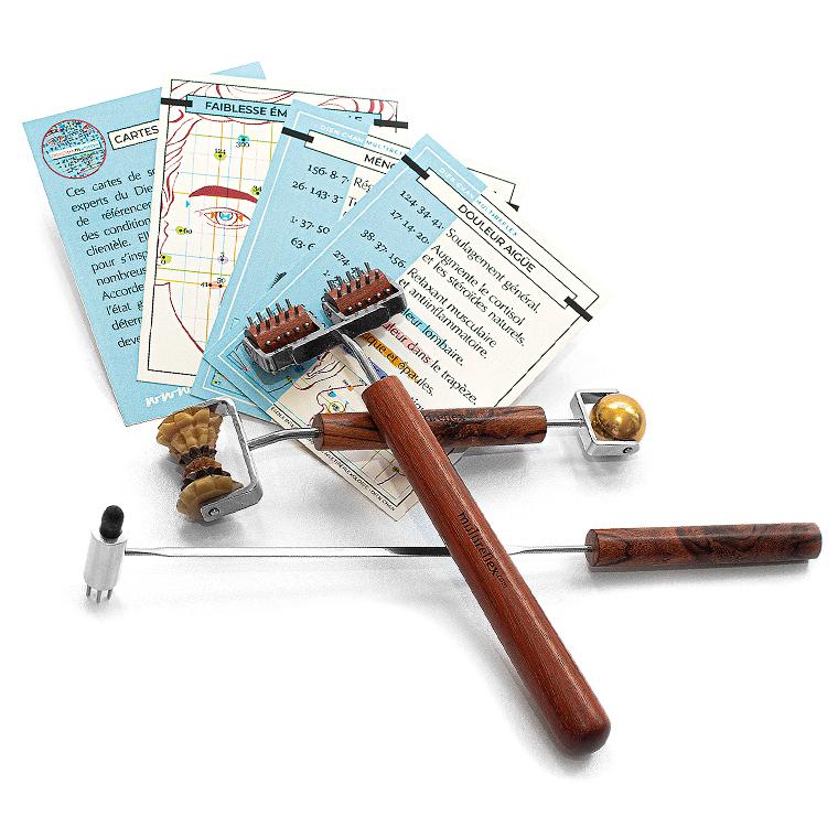 Coffret cadeau des outils du Dien Chan. Beauté d'hiver en Chan'beauté